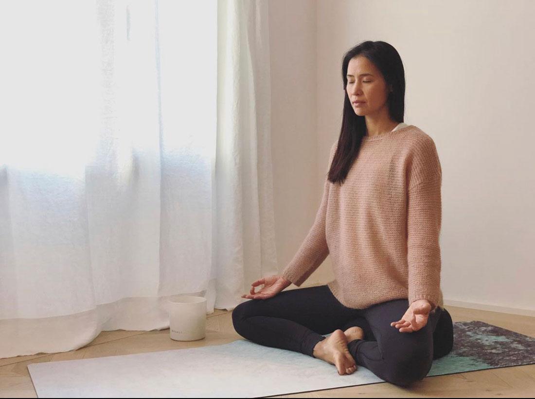xuan lan caraibi yoga mat